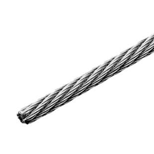 Câble inox 316 souple de construction 7 torons / 7 fils