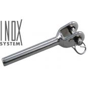 Terminaison à sertir chape fixe soudée - INOX System
