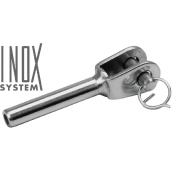 "Terminaison ""design"" chape fixe soudée à sertir - INOX System"