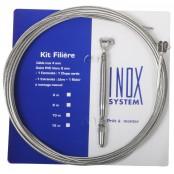 Kit Filière câble Ø4mm (1*19) non gainé à chape fixe.