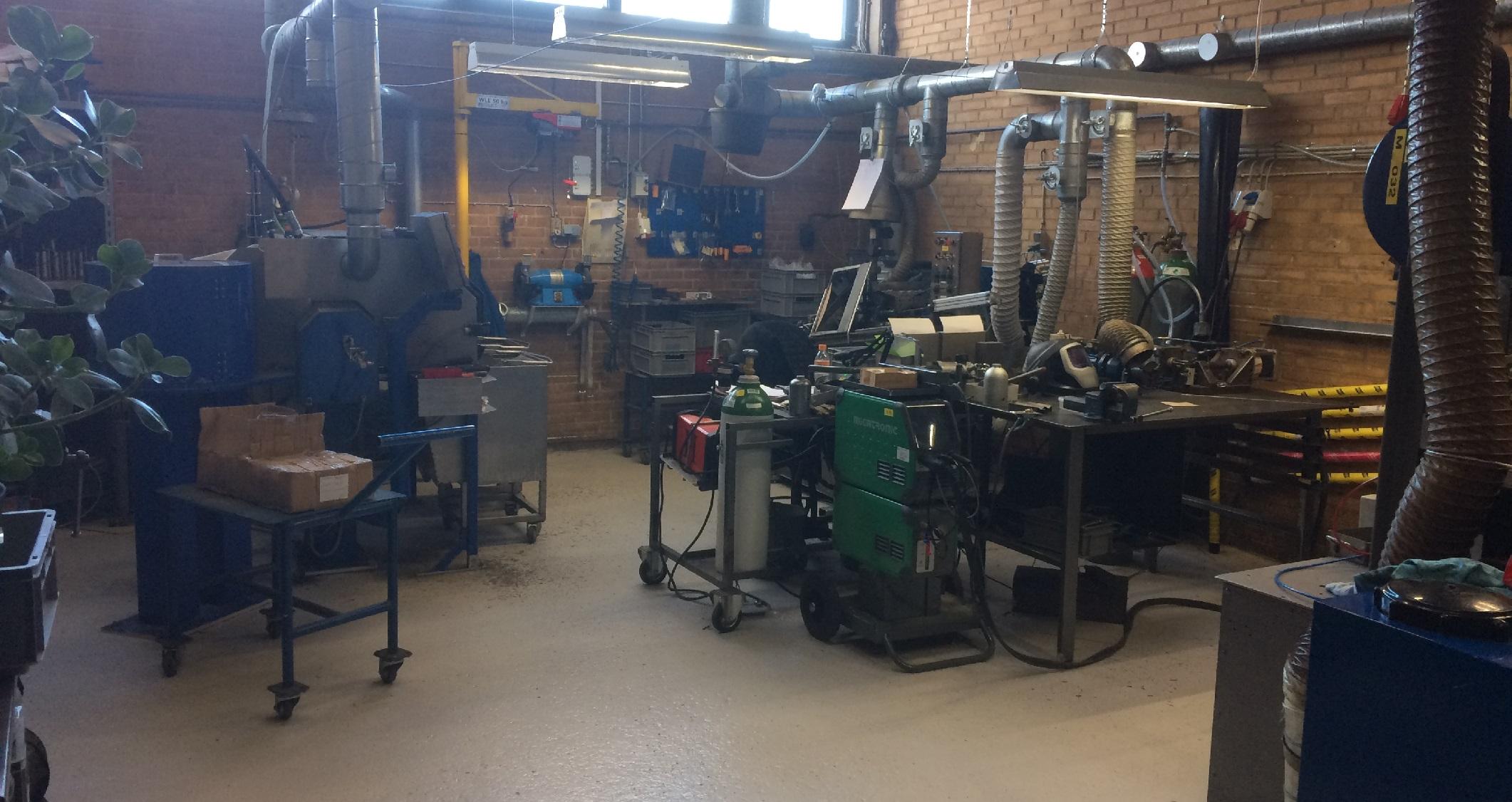 Atelier soudure robotisée