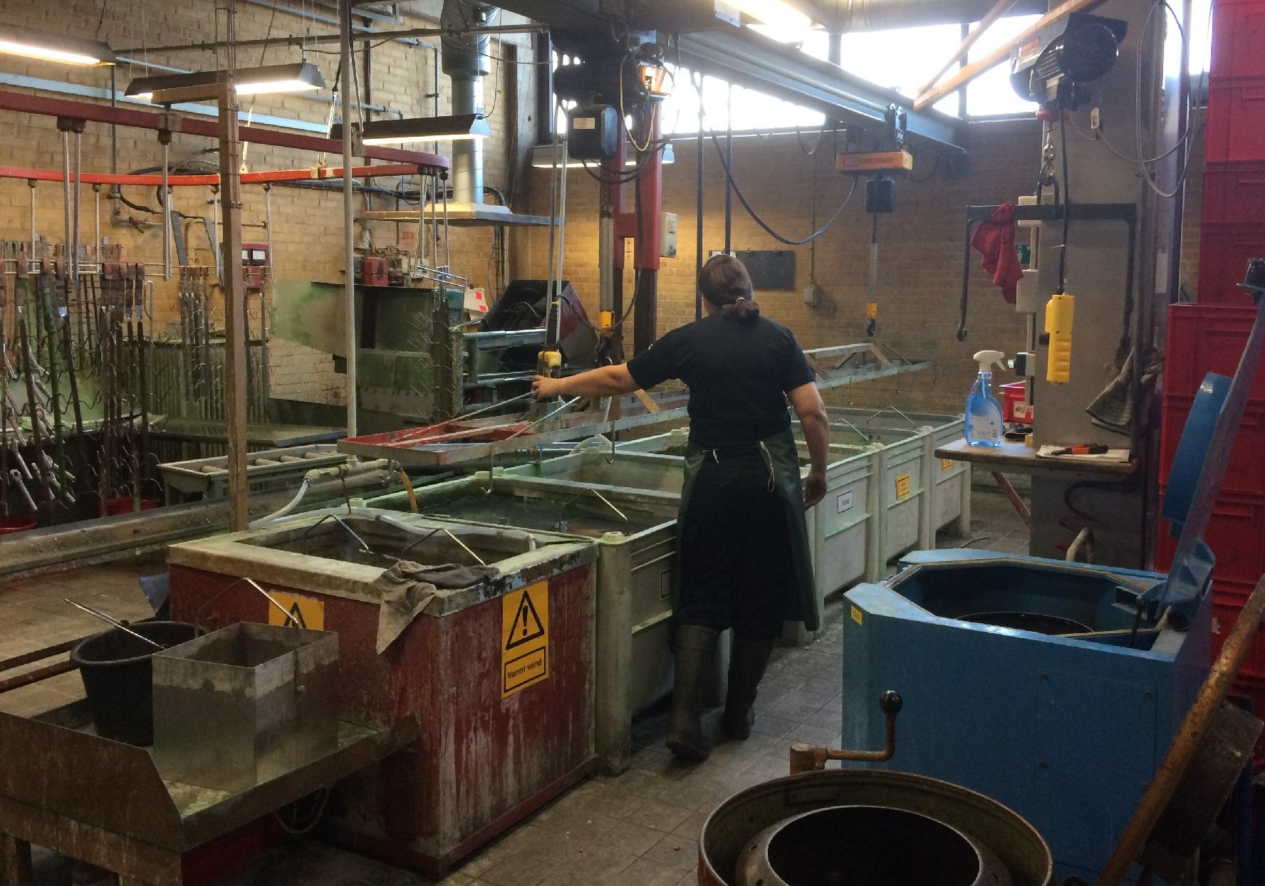 Atelier traitement de surfaces